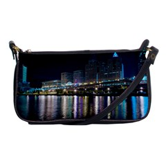 Cleveland Building City By Night Shoulder Clutch Bags