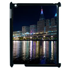 Cleveland Building City By Night Apple Ipad 2 Case (black)