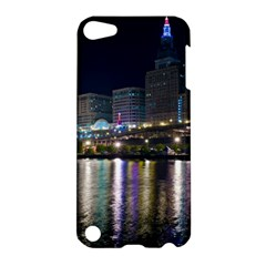 Cleveland Building City By Night Apple Ipod Touch 5 Hardshell Case