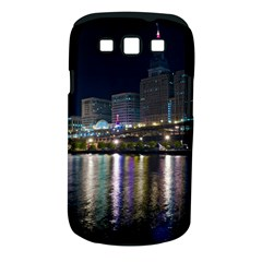 Cleveland Building City By Night Samsung Galaxy S Iii Classic Hardshell Case (pc+silicone)