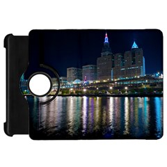 Cleveland Building City By Night Kindle Fire Hd 7