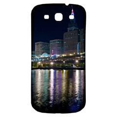 Cleveland Building City By Night Samsung Galaxy S3 S Iii Classic Hardshell Back Case