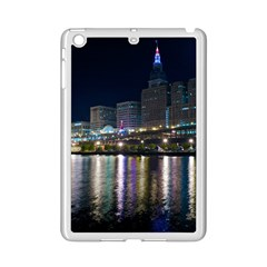 Cleveland Building City By Night Ipad Mini 2 Enamel Coated Cases