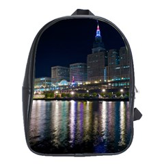 Cleveland Building City By Night School Bags (xl)