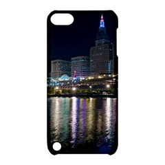 Cleveland Building City By Night Apple Ipod Touch 5 Hardshell Case With Stand