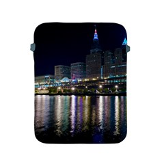Cleveland Building City By Night Apple Ipad 2/3/4 Protective Soft Cases