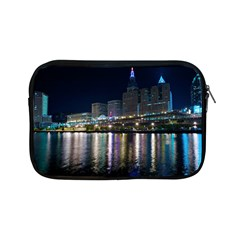 Cleveland Building City By Night Apple Ipad Mini Zipper Cases
