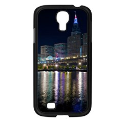 Cleveland Building City By Night Samsung Galaxy S4 I9500/ I9505 Case (black)