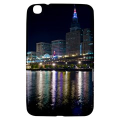 Cleveland Building City By Night Samsung Galaxy Tab 3 (8 ) T3100 Hardshell Case