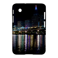 Cleveland Building City By Night Samsung Galaxy Tab 2 (7 ) P3100 Hardshell Case