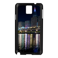 Cleveland Building City By Night Samsung Galaxy Note 3 N9005 Case (black)