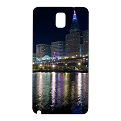 Cleveland Building City By Night Samsung Galaxy Note 3 N9005 Hardshell Back Case