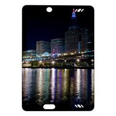 Cleveland Building City By Night Amazon Kindle Fire Hd (2013) Hardshell Case