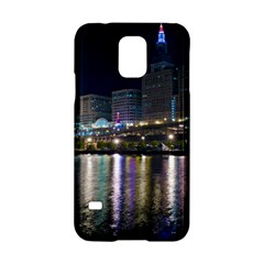 Cleveland Building City By Night Samsung Galaxy S5 Hardshell Case