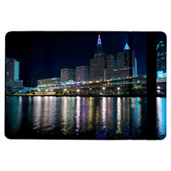 Cleveland Building City By Night Ipad Air Flip