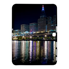 Cleveland Building City By Night Samsung Galaxy Tab 4 (10 1 ) Hardshell Case