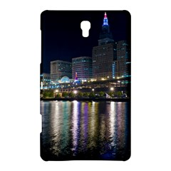 Cleveland Building City By Night Samsung Galaxy Tab S (8 4 ) Hardshell Case