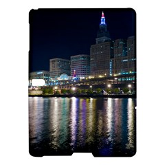 Cleveland Building City By Night Samsung Galaxy Tab S (10 5 ) Hardshell Case