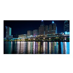 Cleveland Building City By Night Satin Shawl