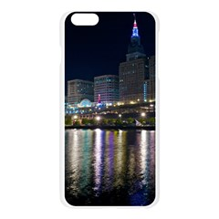 Cleveland Building City By Night Apple Seamless iPhone 6 Plus/6S Plus Case (Transparent)