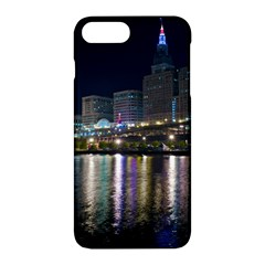 Cleveland Building City By Night Apple Iphone 7 Plus Hardshell Case