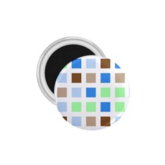 Colorful Green Background Tile Pattern 1 75  Magnets