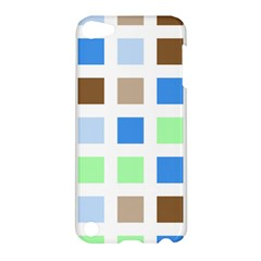 Colorful Green Background Tile Pattern Apple Ipod Touch 5 Hardshell Case