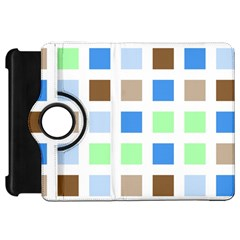 Colorful Green Background Tile Pattern Kindle Fire Hd 7