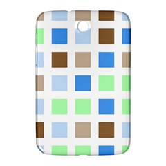 Colorful Green Background Tile Pattern Samsung Galaxy Note 8 0 N5100 Hardshell Case