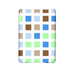 Colorful Green Background Tile Pattern Ipad Mini 2 Hardshell Cases