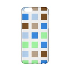 Colorful Green Background Tile Pattern Apple Iphone 6/6s Hardshell Case