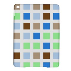 Colorful Green Background Tile Pattern Ipad Air 2 Hardshell Cases