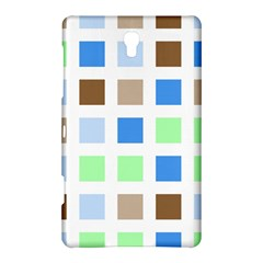 Colorful Green Background Tile Pattern Samsung Galaxy Tab S (8.4 ) Hardshell Case