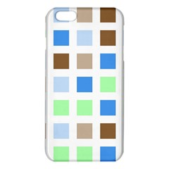 Colorful Green Background Tile Pattern Iphone 6 Plus/6s Plus Tpu Case