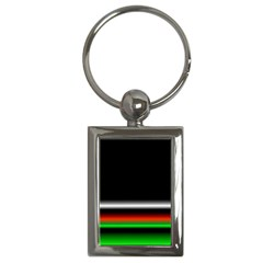 Colorful Neon Background Images Key Chains (rectangle)