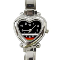 Colorful Neon Background Images Heart Italian Charm Watch