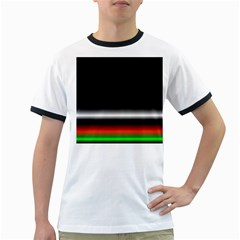 Colorful Neon Background Images Ringer T Shirts