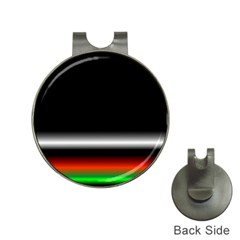 Colorful Neon Background Images Hat Clips With Golf Markers