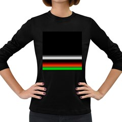 Colorful Neon Background Images Women s Long Sleeve Dark T-Shirts
