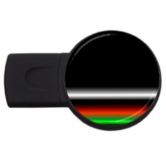 Colorful Neon Background Images Usb Flash Drive Round (4 Gb)