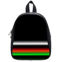 Colorful Neon Background Images School Bags (small)