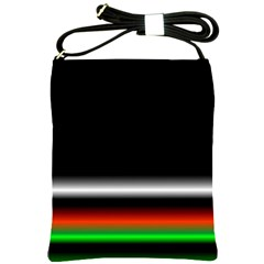 Colorful Neon Background Images Shoulder Sling Bags
