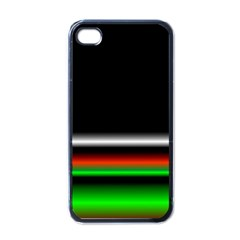 Colorful Neon Background Images Apple Iphone 4 Case (black)