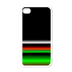 Colorful Neon Background Images Apple Iphone 4 Case (white)