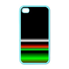 Colorful Neon Background Images Apple Iphone 4 Case (color)