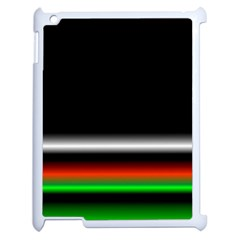 Colorful Neon Background Images Apple Ipad 2 Case (white)