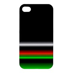 Colorful Neon Background Images Apple Iphone 4/4s Hardshell Case