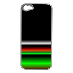 Colorful Neon Background Images Apple Iphone 5 Case (silver)