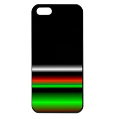 Colorful Neon Background Images Apple Iphone 5 Seamless Case (black)