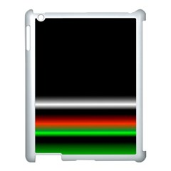 Colorful Neon Background Images Apple Ipad 3/4 Case (white)